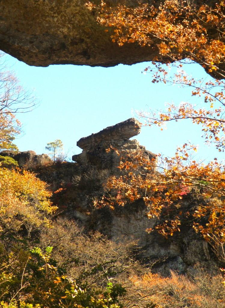 Sさん 大砲岩