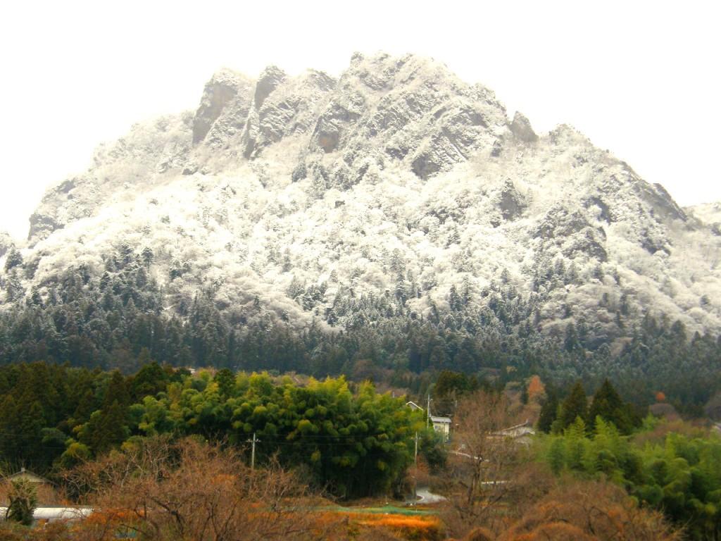 妙義山 雪3