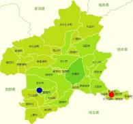 15 3 20 群馬県地図