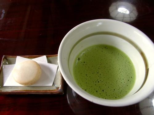 15 6 17 そば みさと 抹茶 マコロン