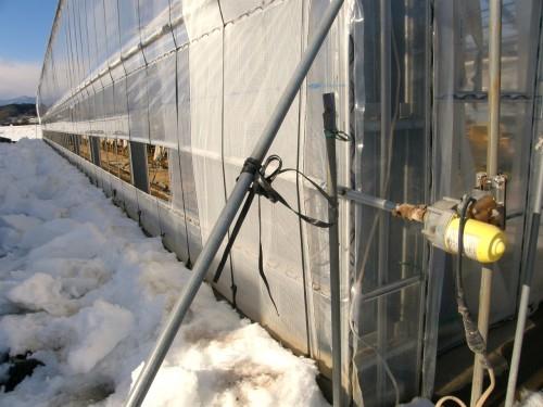 16 1 19 雪 第二農場 サイド 3