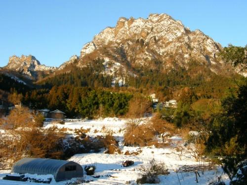 16 1 19 妙義山 雪