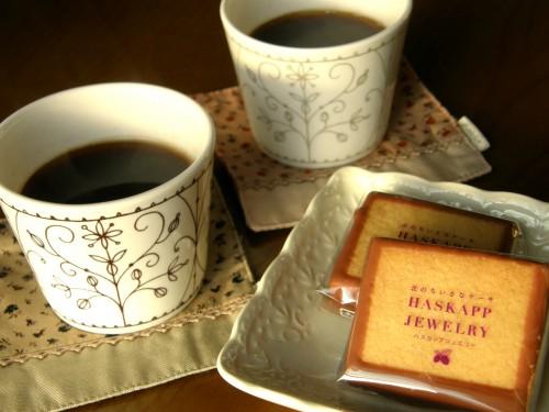 16 1 19 コーヒー ハスカップジュエリー