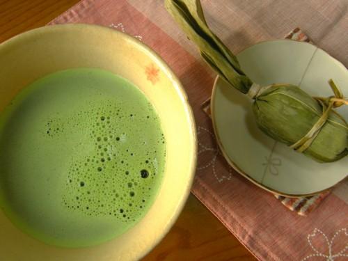 17 12 23 お茶 笹団子